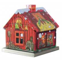 Mother Hulda Fairytale House Incense Smoker ~ Germany