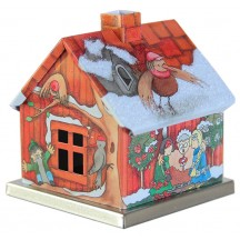 Snow White and Rose Red Fairytale House Incense Smoker ~ Germany