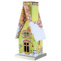 Green Forest Cottage Incense Smoker ~ Germany