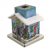 Miniature Wash House Incense Smoker House ~ Germany