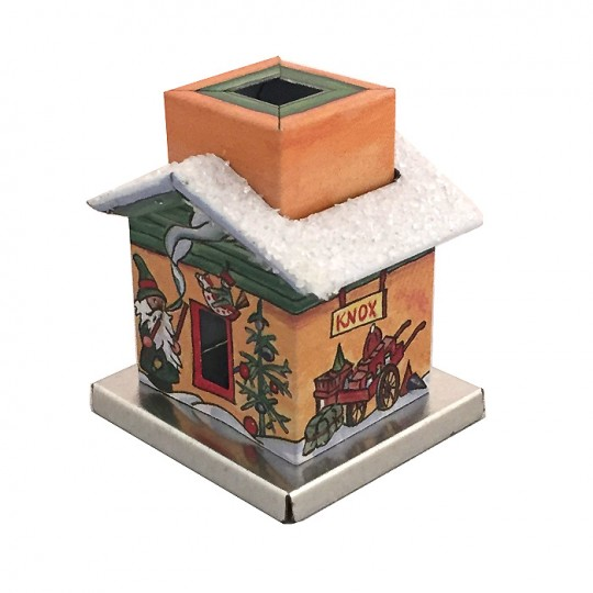 Miniature Apothecary House Incense Smoker House ~ Germany