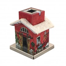 Miniature Heating Incense Smoker House ~ Germany