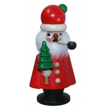 Small Santa with Tree Incense Smoker ~ Christian Ulbricht Germany