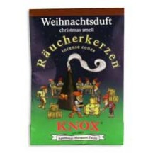 5 Medium Incense Cones in Christmas Scent ~ Germany
