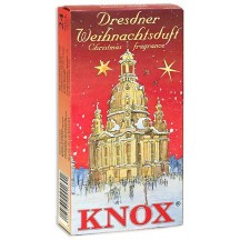 24 Medium Incense Cones in Assorted Christmas Scents ~ Dresden Church