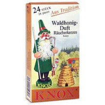 24 Medium Incense Cones in Forest Honey ~ Germany