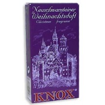 24 Medium Incense Cones in Assorted Christmas Scents ~ Castle Neuschwanstein