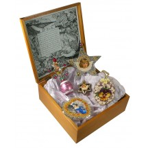 5 Piece Silver and Gold Easter Keepsake Set