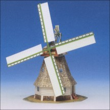 Windmill Paper Project Kit ~ Germany