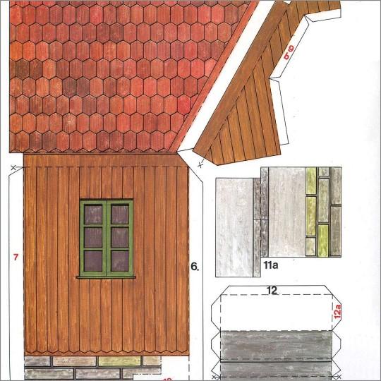 Farmyard Barn Project Kit ~ Germany