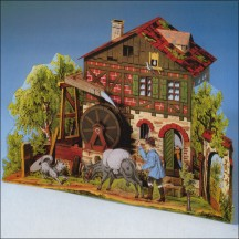 Colorful Romantic Mill Project Kit ~ Germany