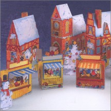 Advent Calendar Christmas Village Project Kit ~ Germany