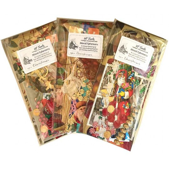Ephemera Specialty Supplies Sampler ~ Christmas Theme