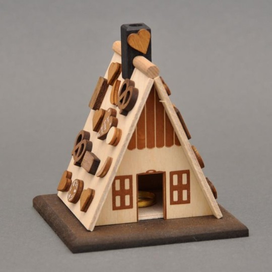 Wooden Gingerbread House Incense Smoker DIY Project Kit ~ Germany