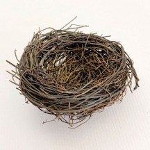 Small Twig Bird Nest for Holiday Crafts