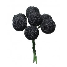 7 Textured Blackberries from Germany ~ 5/8""