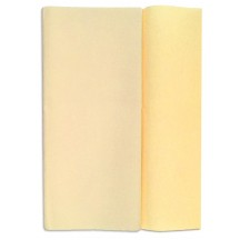 Gloria Doublette Double Sided Crepe Paper from Germany ~ Parchment and Buttermilk