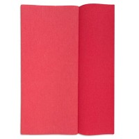 Gloria Doublette Double Sided Crepe Paper from Germany ~  Watermelon and Coral
