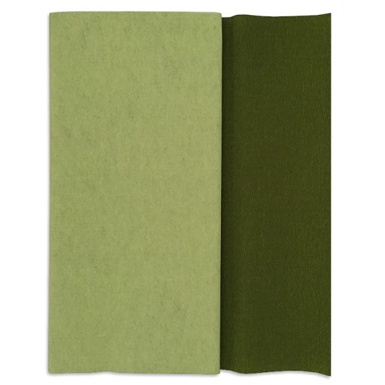 doublette crepe paper Doublette crepe is a medium-weight crepe with a different color on each side the grain of the crepe paper runs parallel to the roll or fold crepe paper stretches horizontally, but not vertically, so.