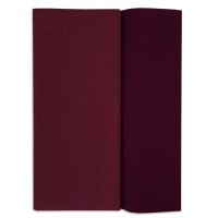 Gloria Doublette Double Sided Crepe Paper from Germany ~ Plum and Aubergine