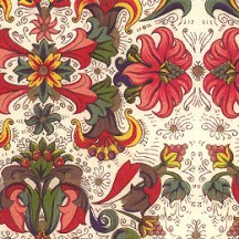 Florentine Flowers Italian Print Paper ~ Made in Florence