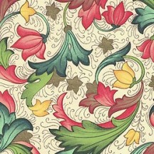 Florentine Flowers Italian Print Paper ~ Made in Italy