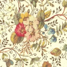 Flowers and Vines Floral Italian Print Paper ~ Carta Fiorentina Italy