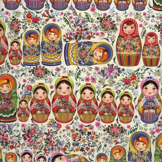 Russian Nesting Dolls Specialty Paper ~ Germany