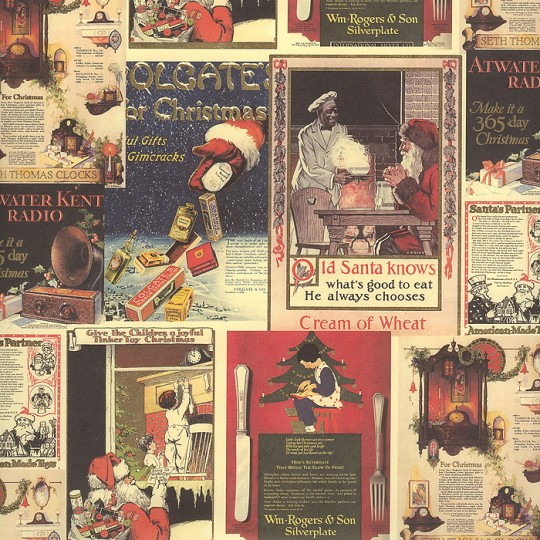 Christmas Advertising Collage Paper ~ Kartos Italy