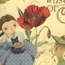 Wizard of Oz Collage Italian Paper ~ Kartos Italy