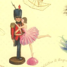 The Steadfast Tin Soldier Collage Italian Paper ~ Kartos Italy