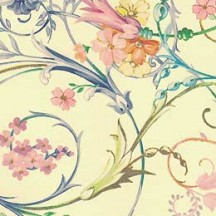 Delicate Floral Swirl Florentine Print Paper ~ Kartos Italy