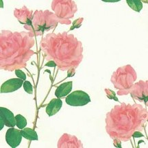 Pink Rose Floral Print Italian Paper ~ Leonardo Communication