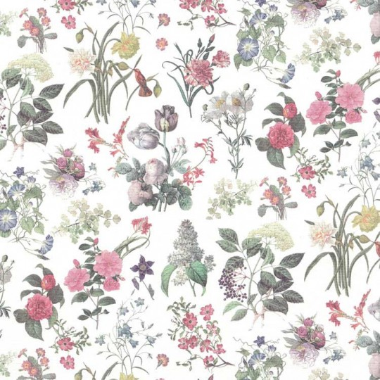 Mixed Botanical Print Paper ~ Italy