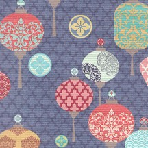 Mixed Lanterns Print Paper ~ Italy