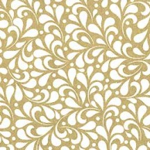 Golden Leaves Italian Print Paper ~ Rossi Italy