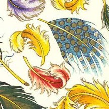 Mixed Feathers Florentine Print Paper ~ Rossi Italy