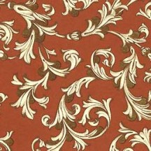 Traditional Florentine Print Paper in Brown ~ Rossi Italy