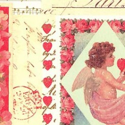 Valentine Sheet Papers