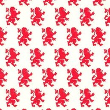 Red Lion Print Paper ~ Rossi Italy