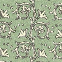 Green Florentine Vine Print Paper ~ Rossi Italy