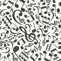 Musical Notes Italian Paper ~ Rossi Italy