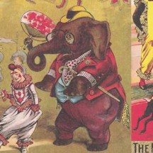 Circus Collage Print Paper ~ Rossi Italy