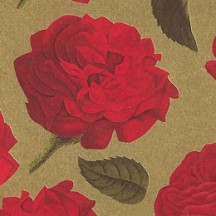 Red Roses on Gold Florentine Print Paper ~ Rossi Italy
