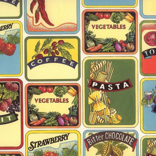Seed and Fruit Labels Italian Paper ~ Tassotti
