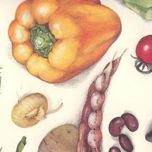 Mixed Vegetables Italian Paper ~ Tassotti