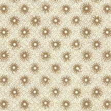 Petite Golden Floral and Dot Print Italian Paper ~ Tassotti