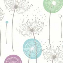 Dandelion and Posy Floral Print Italian Paper ~ Tassotti