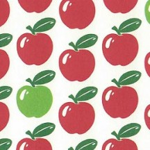 Cheerful Apple Print Italian Paper ~ Tassotti