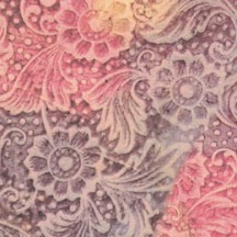 Stamped Floral Brocade Italian Paper ~ Tassotti
